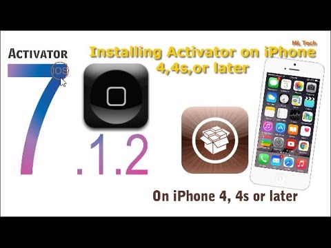 [iOS 7.1.2] How to install Activator on iphone, iPad, iPod || របៀបដាក់ Shortcut នៅលើ  Home Screen