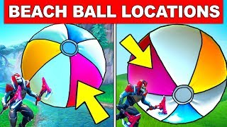 Download BOUNCE A GIANT BEACH BALL IN DIFFERENT MATCHES – ALL LOCATIONS FORTNITE 14 DAYS OF SUMMER CHALLENGES Video