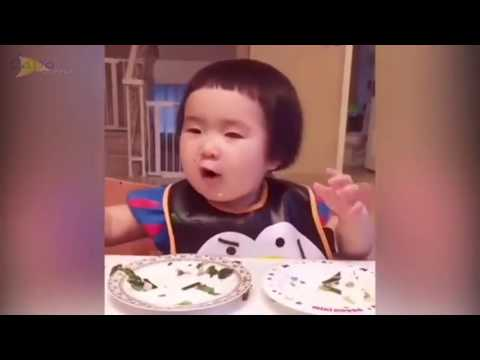Cute kid with endless appetite