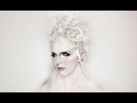 DIY WINTER HEADPIECE | Snow Fairy Crown