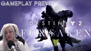 DESTINY 2 MADE ME CRY!? | Destiny Forsaken Gameplay (Story Mission)