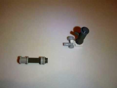 How to Make a Lego Mini-Figure Mini-Gun