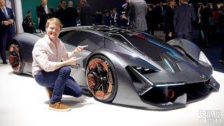 Meet the ELECTRIC Lamborghini Terzo Millennio!