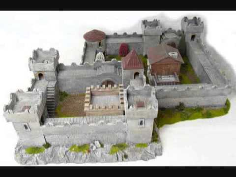 Crusade historic castle (also for LotR and Warhammer)