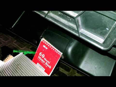 Cabin air filter replacement 2008 Honda CR-V A/C Filter Install Remove Replace