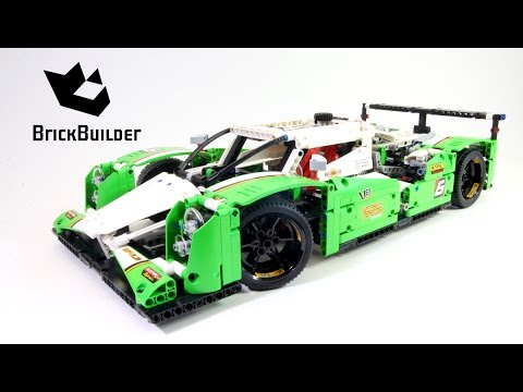 Lego Technic 42039 24 Hours Race Car - Lego Speed build