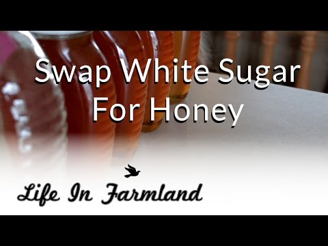 Vlog:   Making Strawberry Jam and swapping white sugar for honey
