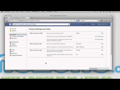 How to Make My Contact Information Private on Facebook : Connecting With Facebook