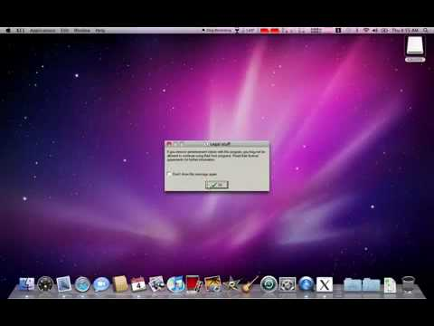Run windows programs and games in MAC OS X Leopard/Snow Leopard