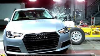 2016 Audi A4 Euro NCAP Crash Test | Audi A4 Reviews