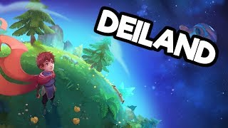 Deiland Pc Gameplay Impressions  Survival Crafting In Space