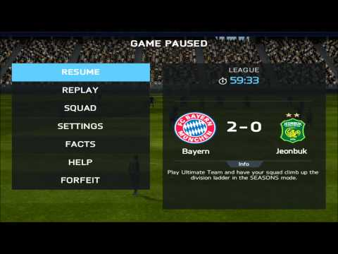 FIFA 14 for iPad: Tournament Mode Overview