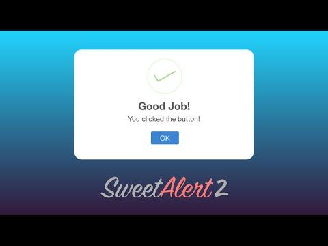 Sweet Alert from server side c#