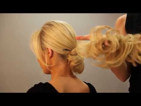 Scrunchie & Hair Chopsticks - Upstyles For Special Occasions