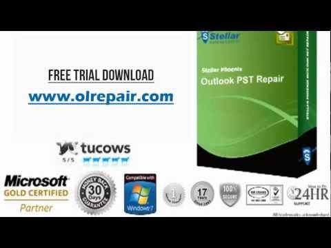 Stellar Phoenix Outlook PST Repair Free Trial