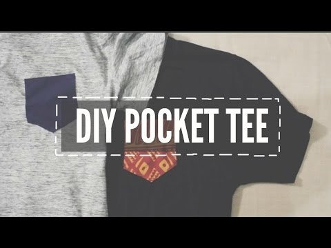 DIY Pocket Tee-Shirt ♡ | ShayBrit