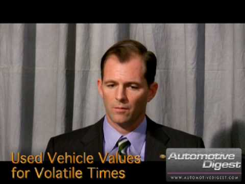Mike Stanton, NADA Used Car Guide, Used Vehicle Values for Volatile Times
