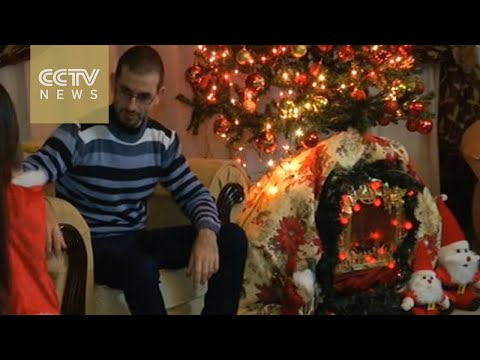 Christians in Gaza pray for peace on Christmas Day