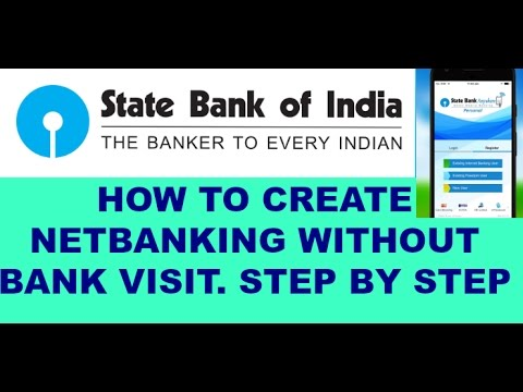 How to create netbanking  without branch visit step by step ...Internet banking first loging.