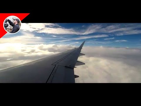 DC to New Orleans Flight GoPro Timelapse