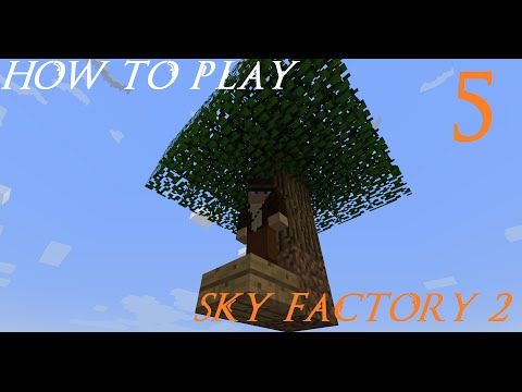Sky Factory 2 Beta: Ep5 (Obsidian and Smeltery)