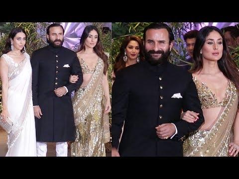Xxx Mp4 Saif Ali Khan With Kareena Kapoor Amp Karisma Kapoor At Sonam Kapoor 39 S GRAND Wedding Reception 3gp Sex