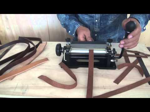 Leather splitter Leather skiver