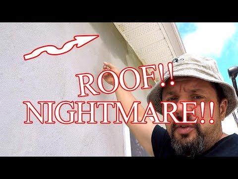 ROOF LEAKING NIGHTMARE!! Homestead gone WRONG!