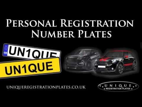 Personal Registration Plates
