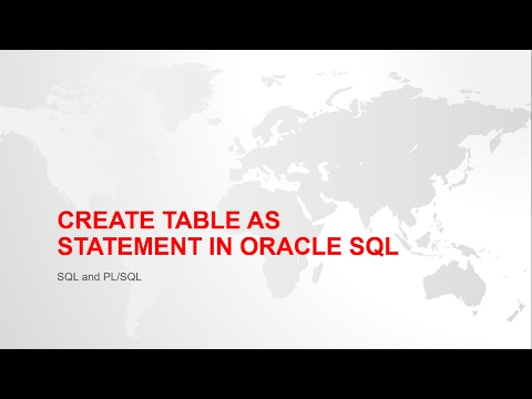 How to create a copy of an existing table in oracle sql with example