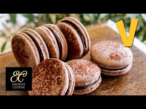 Chocolate Macaron by Emojoie Cuisine