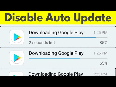 How To Disable/Stop Google Play Store Auto Update Apps Over Wifi or Data Connection-2018