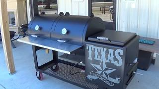 Adjustable Charcoal Grill By Lone Star Grillz | Music Jinni