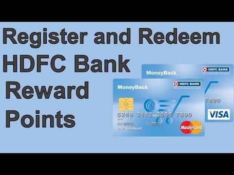 Register and Redeem HDFC Bank Rewards point Online