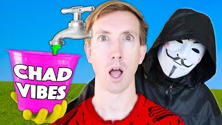 HACKERS Made CHAD BORING! CWC vs Spy Ninjas Challenges for 24 Hours: Parkour, Battle Royale, & Music