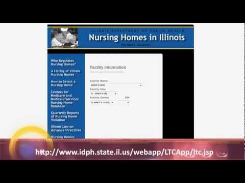 Illinois Assisted Living & Nursing Home Facility Information; Inspections, Citations & Licensing