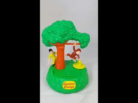 Curious George Adventures Animated Musical Bank 1998