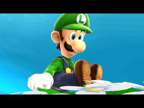 Super Luigi Galaxy Walkthrough - Part 1 - Good Egg Galaxy
