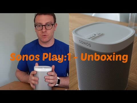 Sonos Play:1 - Unboxing
