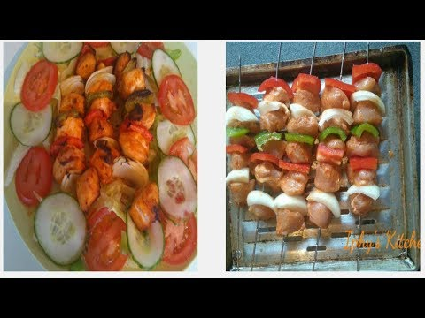 Chicken Kebab in the oven