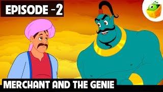 Merchant and Genie   Episode 2   Arabian Nights   Magicbox English Kids Stories