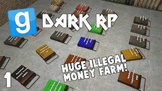 Gmod Dark Rp | Huge Room Full Of Money Printers| Ep 1 (funny Moments)