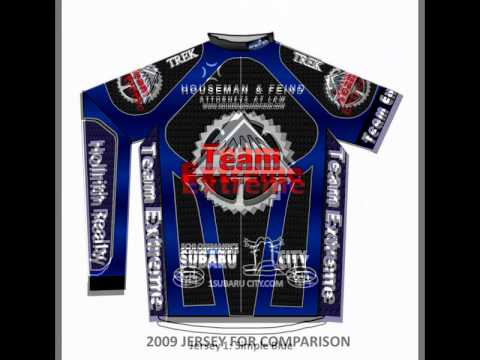 2012 Team Extreme Jersey Design Project