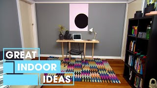 Make Your Own Space Saving Table | Indoor | Great Home Ideas