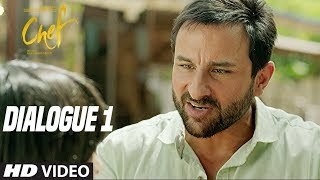 What Is Chole Bhature? :Chef (Dialogue Promo 1) | Saif Ali Khan | Raja Krishna Menon