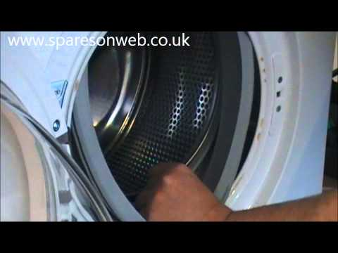 DIY video: Swap the washing machine's door seal yourself | How-to