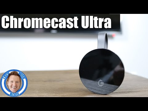 Chromecast Ultra Setup & App Overview