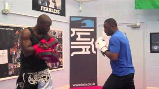 Idris Elba in the ring for LUTA