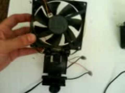 How To Build a Aquarium Cooling Fan.3GP