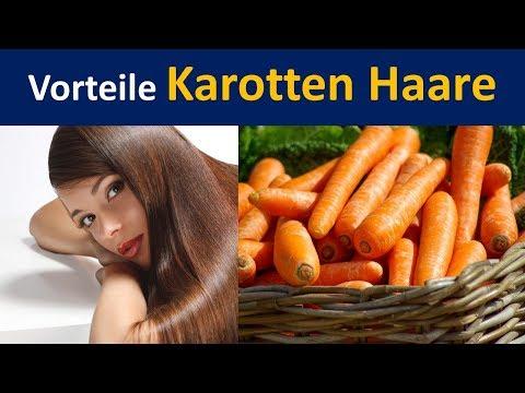 Vorteile Mohrrüben in Haar | Karotte Öl & Pre-Shampoo Behandlung zur Verfügung stellen
